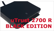 uTrust 2700 R black edition