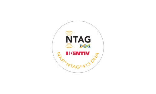NTAG 413 DNA / 5 Stück/NFC Tag Typ 4 NXP / ISO14443A