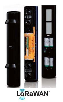 LoRa SSL100QF-L 4-Kanal-Strahlungsfrequenz Lichtschrankensensor für den Außenbereich 100 Meter