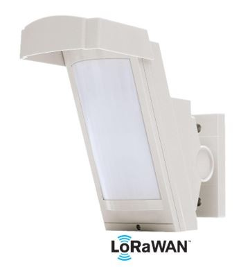 LoRa SHX12AM-L Hochmontierter Mehrgelände PIR sensor für den Außenbereich 12 Meter