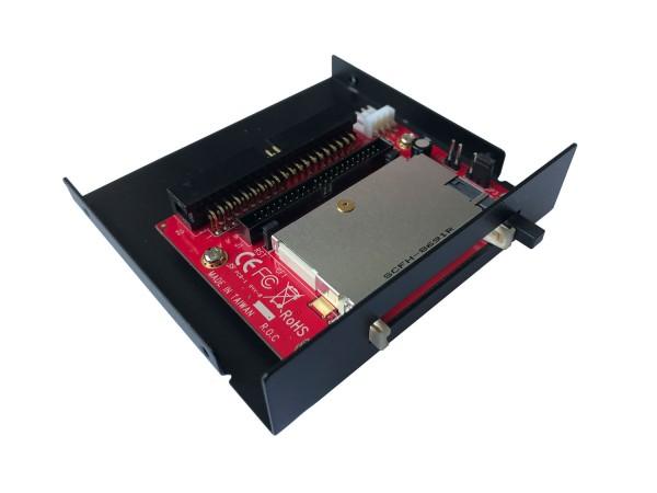 IDE Card Drive CF 3.5 Zoll Front Einschub schwarz Bootfähig