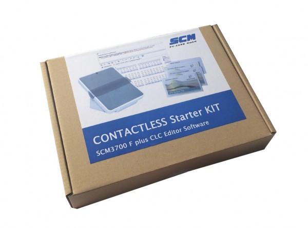 CONTACTLESS Starter KIT - Software PLUS kontaktlos Leser SCM 3700 / Bearbeiten kontaktloser Karten