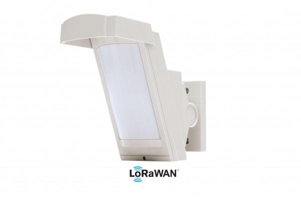 LoRa SHX12AM-L Hochmontierbarer PIR Sensor für den Außenbereich, Reichweite 12 Meter