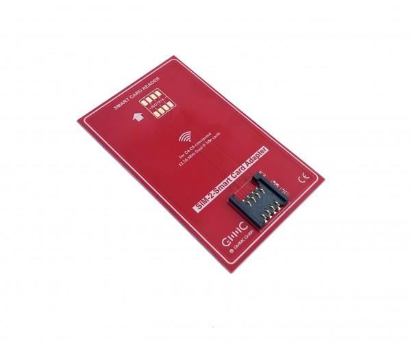 Universal SIM Adapter zum Auslesen von Mini SIM / Micro SIM / Nano SIM / Hybridkarten mit NFC