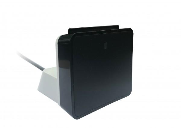 SCR uTrust 2700 R Smart Card Leser INKLUSIVE Standfuss Edition SCHWARZ Weiss