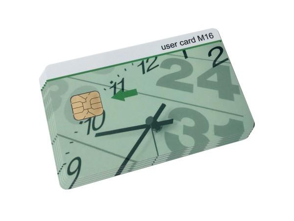 User Card M16 (5er-Pack) für Chipdrive Time Recording / Zeiterfassung