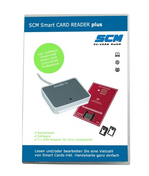 SCM Smart Card Reader PLUS – Kartenleser uTrust 2700 plus Software zum Lesen von S