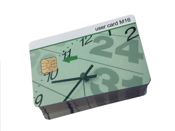 User Card M16 (25er-Pack) für Chipdrive Time Recording / Zeiterfassung