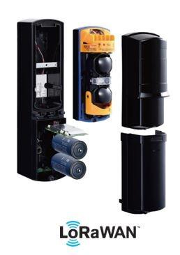 LoRa SSL60T-L Lichtschrankensensor für den Außenbereich 60 Meter